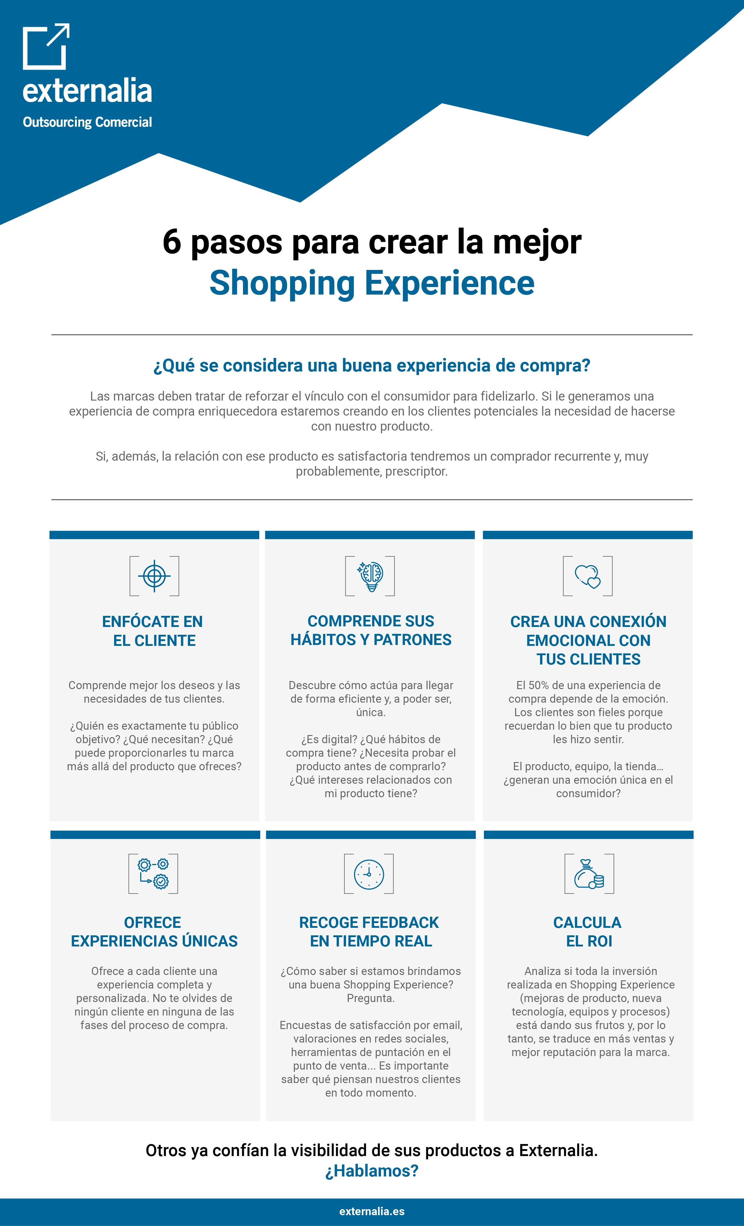 la mejor shopping experience